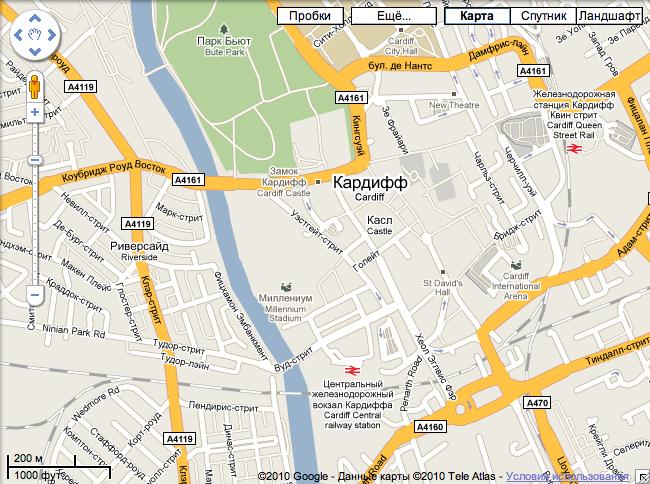 Карта Гугль - фото 6