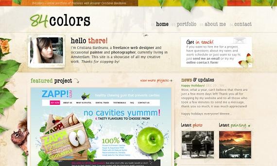 Красивые сайты