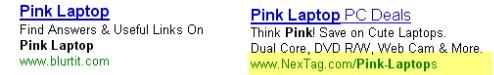Объявление Google Adwords