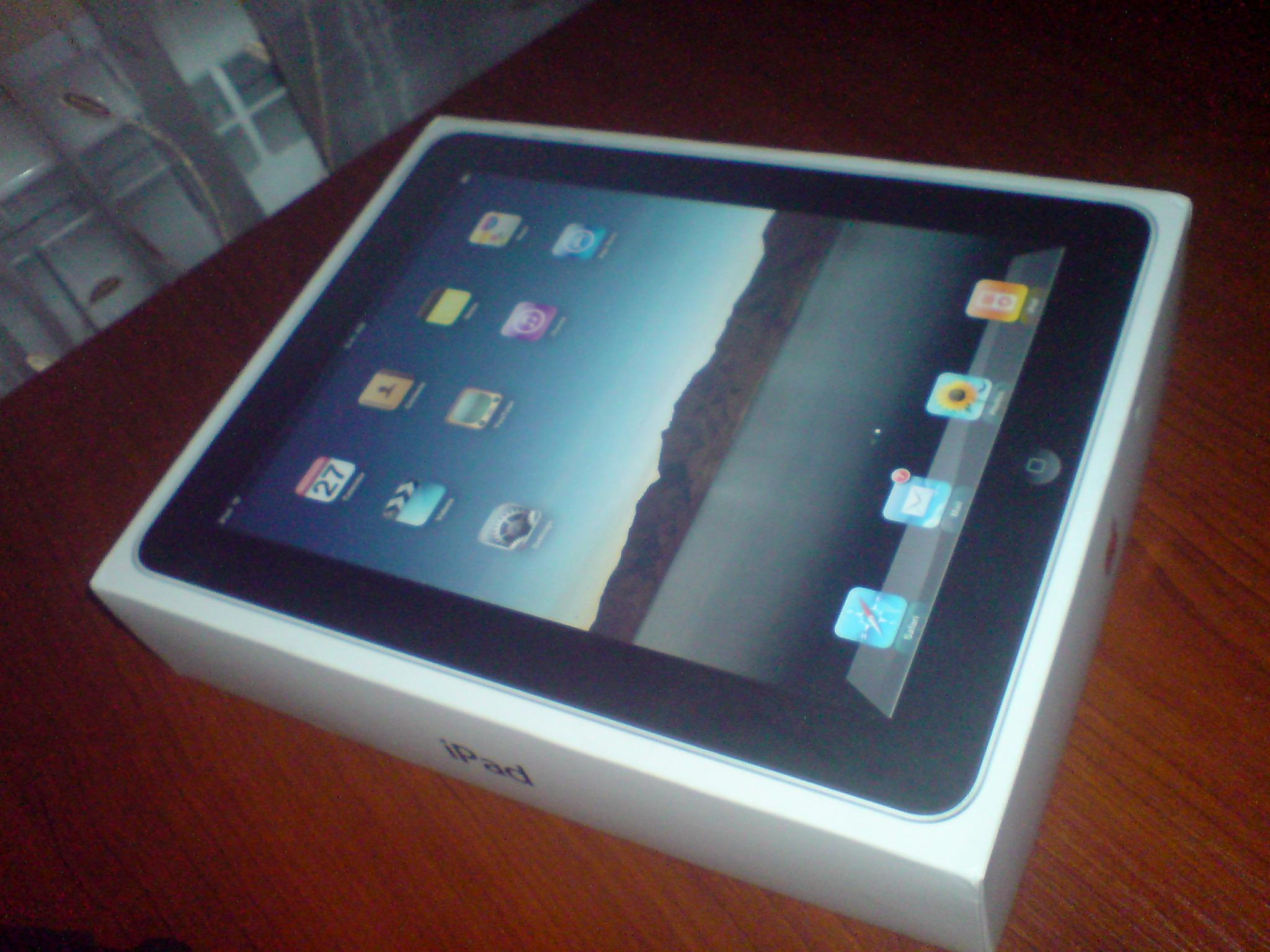 Приехал iPad от webmasters.ru